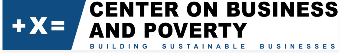 Center on Business and Poverty Logo
